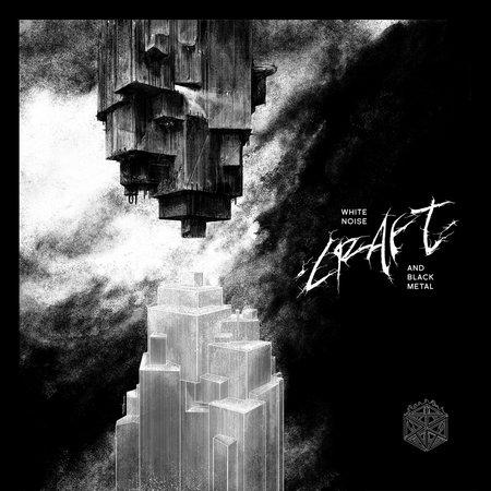 "CRAFT (Sweden) - ""White Noise and Black Metal"" - LP Silver & Black Vinyl Ltd. 200 cop. 2018 - Season of Mist"