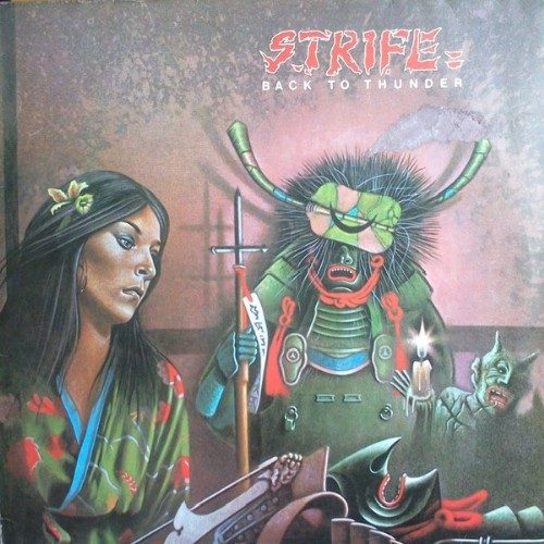 "STRIFE (UK) - ""Back to the Thunder"" - CD 1978 - Shadow Kingdom Records"