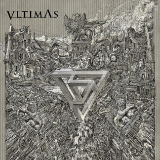 """VLTIMAS (International) - """"Something Wicked Marches In"""" - CD Digipack 12 Page booklet + Poster 2019 - Seanson of Mist"""