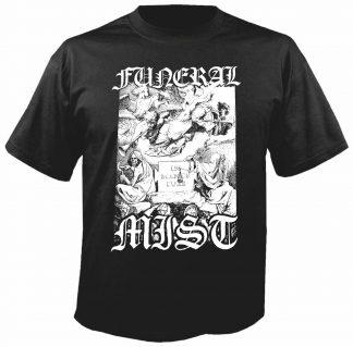 """FUNERAL MIST (Sweden) - """"Salvation"""" Tshirt - Noevdia"""