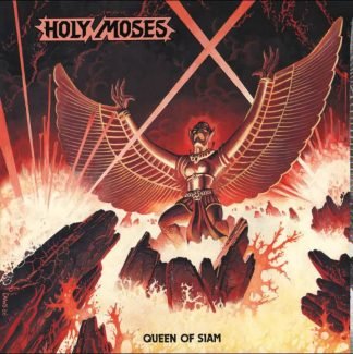 """HOLY MOSES (Germany) - """"Queen of Siam"""" - LP+7"""" Ltd. Black 2016 - High Roller Records"""