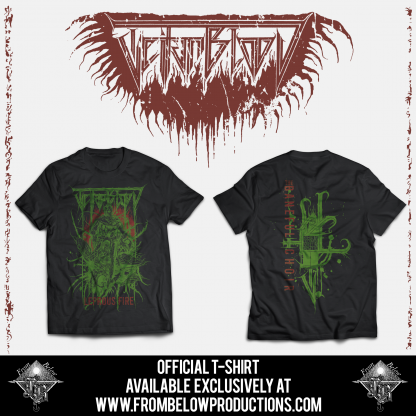 """TEITANBLOOD (Spain) - """"The Baneful Choir"""" - Tshirt design 1 2019 - From Below Productions This is a PRE-ORDER. Estimated shipping date: 18th October"""