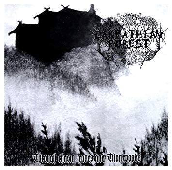 """CARPATHIAN FOREST (Norway) - """"Through Chasm, Caves & Titan Woods"""" - 12""""EP 1995 - Peaceville Records"""