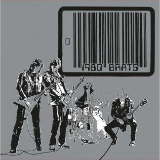 "BRATS (Danish) - ""1980"" - CD Slipcase 2019 - High Roller Records"