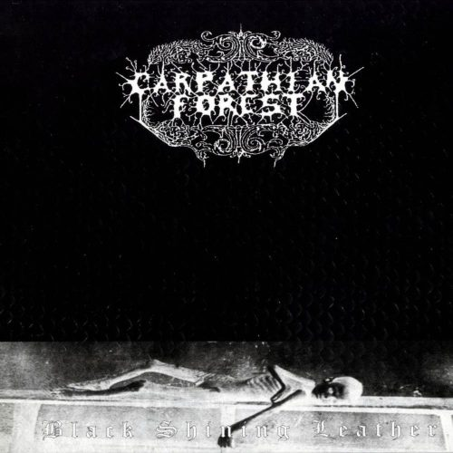 "CARPATHIAN FOREST (Norway) - ""Black Shining Lether"" - 2LP 1998 - Peaceville Records"