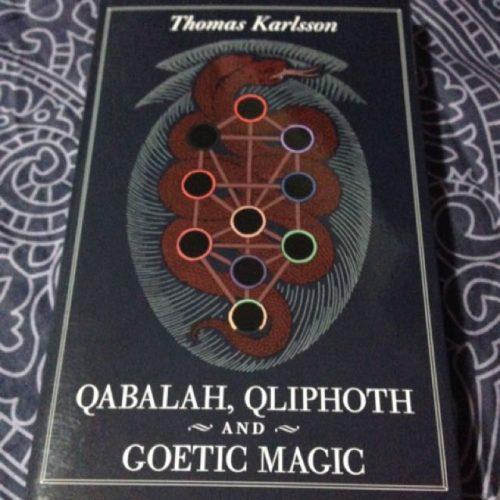 QABALAH, QLIPHOTH AND GOETIC MAGIC by Thomas Karlsson - BOOK