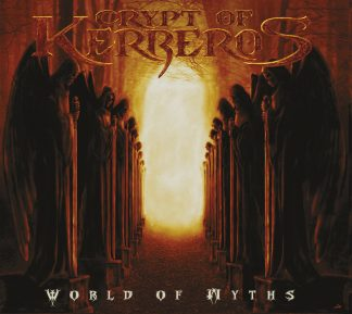 """CRIPT OF KERBEROS (Sweden) - """"World of Miths"""" - CD DIGIPACK 1993 - Pulverised Records"""