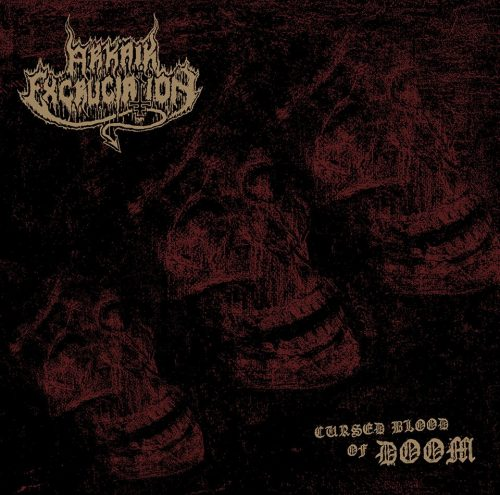 "ARKAIK EXCRUCIATION (Spain) - ""Cursed Blood of Doom"" - LP 2019 - Duplicate Records & Caverna Abismal"