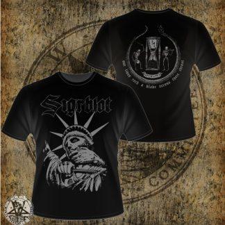 """SIGRBLOT - """"Statue of Liberty"""" T-shirt Size M"""