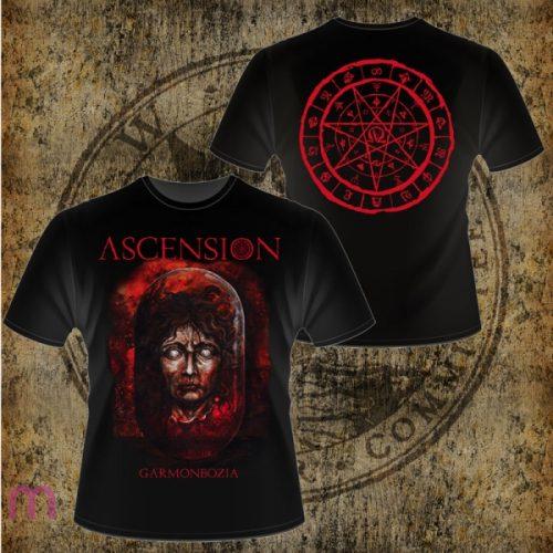"""ASCENSION - """"Garmonbozia"""" T-shirt Size M"""