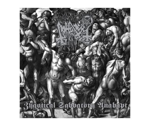 "ABHORER (Singapore) - ""Zygotical Sabbatory Anabapt"" - CD Digipack 1996 - Shivadarshana Records"