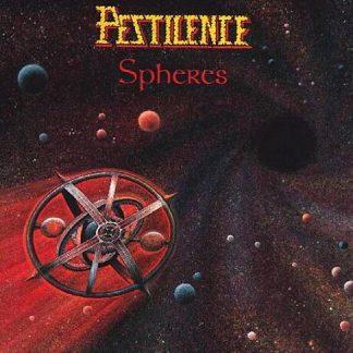 """PESTILENCE (Netherlands) - """"Spheres"""" - LP 1993 - Hammerheart Records"""