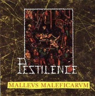 "PESTILENCE (Netherlands) - ""Malleus Maleficarum"" - LP 1988 - Hammerheart Records"