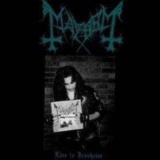 "MAYHEM (Norway) - ""Live in Jessheim"" - CD-DVD 2017 - Peaceville Records"