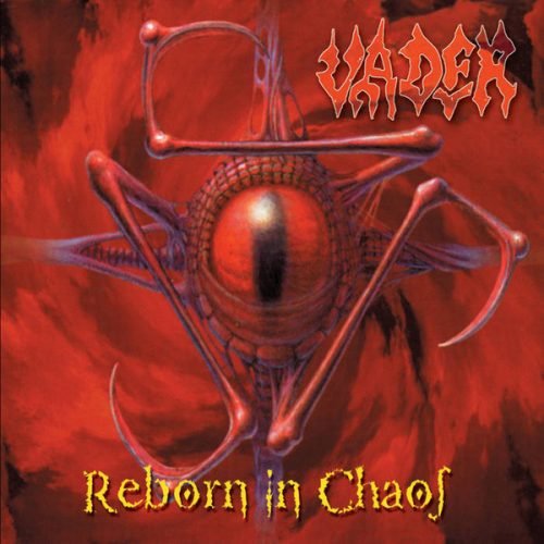 """VADER (Poland) - """"Reborn in Chaos"""" - CD Compilation 1996 - Hammerheart Records"""