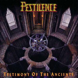 "PESTILENCE (Netherlands) - ""Testimony of the Ancients"" - LP 1991 - Hammerheart Records"