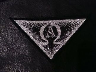 """ASCENSION - """"Omega Triangle"""" Patch White"""