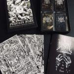 """FUNERAL MIST (Sweden) - """"The Cassette Collection Box"""" - K7 2020 - Noevdia"""
