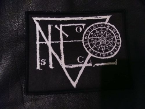 "ASCENSION - ""Logo"" Patch White"
