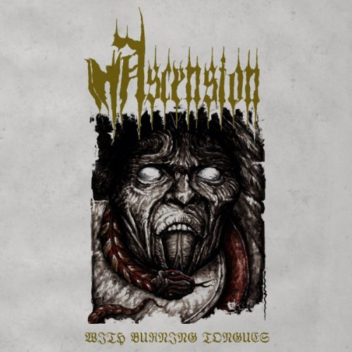 """ASCENSION (Germany) - """"With Burning Tongues"""" - LP Reissue 2020 Gatefold+Booklet 2009 - W.T.C."""