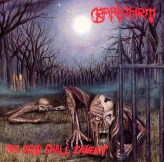 """BAPHOMET (USA) - """"The Dead Shall Inherit"""" - CD 1992 - Peaceville Records"""