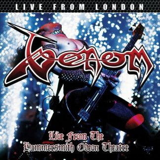 """VENOM (UK) - """"Live from the Hammersmith Odeon Theatre"""" - LP 2017 - High Roller Records"""