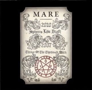 """MARE (Norway) - """"Spheres like Death / Throne of the Thirteenth Witch"""" - LP 2020 - Terratur Possessions"""