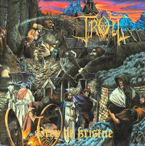 "TROLL (Norway) - ""Drep de kristne"" - LP 180gr Amber Vinyl - The Devil's Elixirs"
