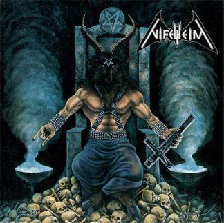 """NIFELHEIM (Sweden) - """"Nifelheim"""" - CD 1995 - Regain Records"""