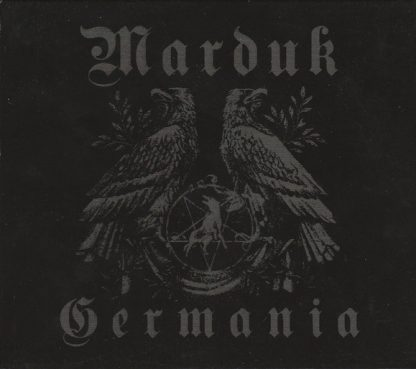 """MARDUK (Sweden) - """"Germania"""" - Limited Slipcase CD+DVD Edition 1997 - Blooddawn Productions"""