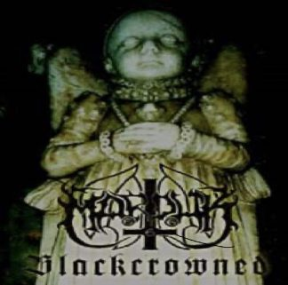 """MARDUK (Sweden) - """"Blackcrowned"""" - DVD Limited Edition 2500 copies. 2002 - Regain Records"""