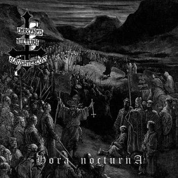 "DARKENED NOCTUN SLAUGHTERCULT (Germany) - ""Hora Nocturna"" - Jewel case CD 2006 - Osmose Productions"