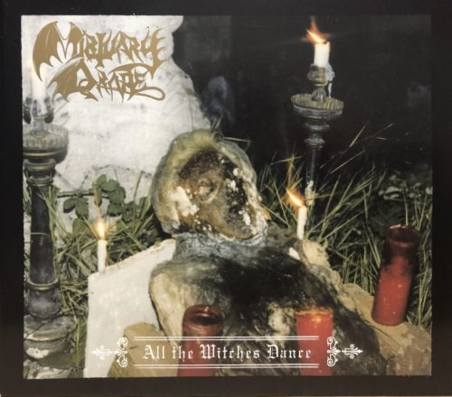 """MORTUARY DRAPE (Italy) - """"All the Witches Dance"""" - Slipcase CD 1994 - Iron Tyrant"""