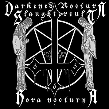 """DARKENED NOCTUN SLAUGHTERCULT (Germany) - """"Hora Nocturna"""" - Limited Gatefold Red Galaxy 2006 - Osmose Productions"""