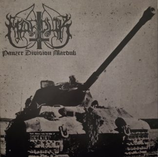 """MARDUK (Sweden) - """"Panzer Division Marduk"""" - Limited edition Gatefold Black LP with slipmat and alternate cover 1999 - Osmose Productions"""