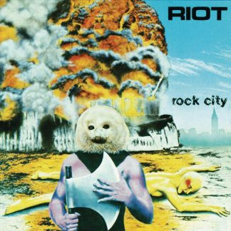 """RIOT (USA) - """"Rock City"""" - Digisleeve CD with poster booklet 1977 - Metal Blade Records"""