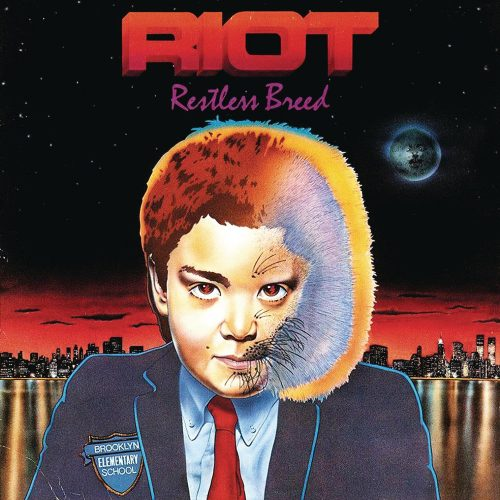 """RIOT (USA) - """"Restless Breed"""" - Digisleeve CD with poster booklet and bonus tracks 1982 - Metal Blade Records"""