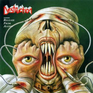 """DESTRUCTION (Germany) - """"Release from Agony"""" - Limited Slipcase CD comes with booklet and poster of the cover 1997 - High Roller Records"""