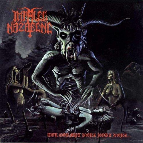"IMPALED NAZARENE (Finland) - ""Tol Cormpt Norz Norz Norz..."" - Limited Gatefold Black LP 1993 - Osmose Productions"