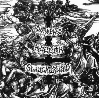 """DARKENED NOCTUN SLAUGHTERCULT (Germany) - """"Follow the Calls for Battle"""" - Jewel case CD 2001 - Osmose Productions"""