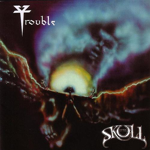 "TROUBLE (USA) - ""The Skull"" - Slipcase CD 1985 - Hammerheart Records"
