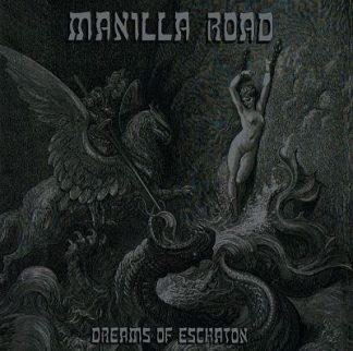 "MANILLA ROAD (USA) - ""Dreams of Eschaton"" - Limited Gatefold Black Vinyl 2LP with insert 2016 - High Roller Records"
