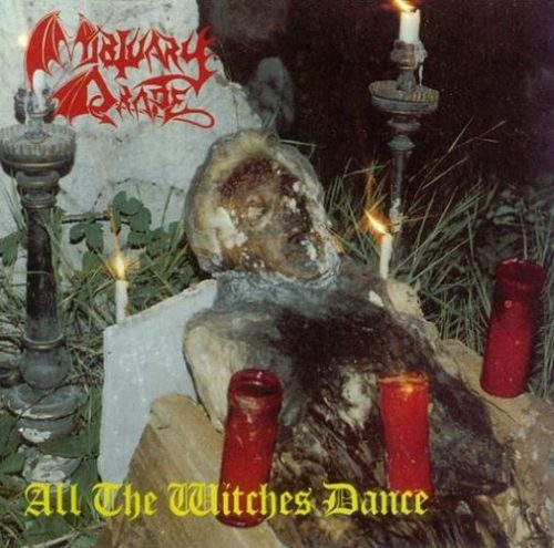 "MORTUARY DRAPE (Italy) - ""All the Witches Dance"" - Slipcase CD 1994 - Iron Tyrant"