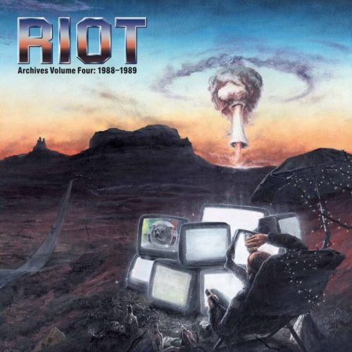 "RIOT (USA) - ""Archives Volume Four: 1988-1989"" Limited Edition 2LP/DVD 2019 - High Roller Records"