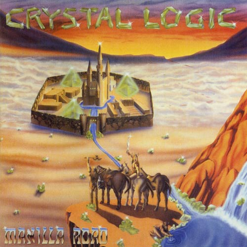 "MANILLA ROAD (USA) - ""Crystal Logic"" - 2CD 1983 - Golden Core"