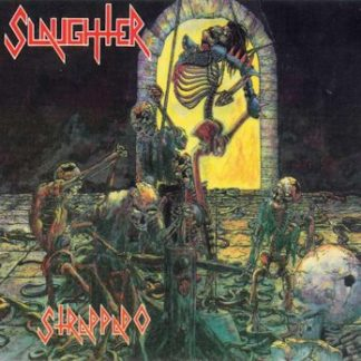 """SLAUGTHER (Canada) - """"Strappado"""" - Remix Slipcase CD 1987 - High Roller Records"""