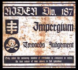 """NIDEN DIV. 187 – """"Impergium/Towards Judgement"""""""