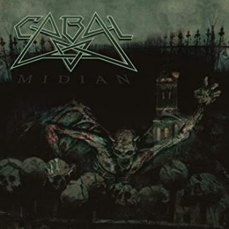 "CABAL (Sweden) - ""Midian""- CD 1991 - VIC Records"