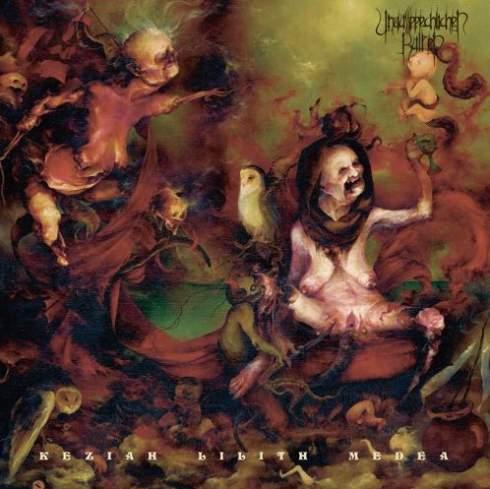 "UNAUSSPRECHLICHEN KULTEN (Chile) - ""Keziah Lilith Medea (Chapter X)"" - Gatefold LP with Poster 2017 - Iron Bonehead Productions"