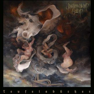 """UNAUSSPRECHLICHEN KULTEN (Chile) - """"Teufelsbücher"""" - Gatefold LP with Poster 2019 - Iron Bonehead Productions"""